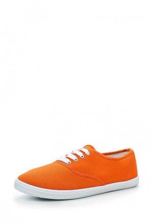 Кеды My&My. Цвет: оранжевый