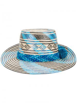 Шляпа Marea Yosuzi. Цвет: синий
