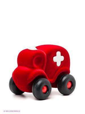 Машинка Скорая помощь Rubbabu. Цвет: красный