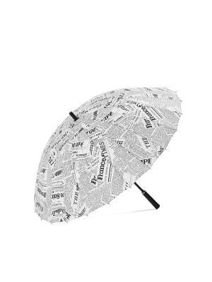 Зонт Лондон Signature A.P.. Цвет: черный, белый