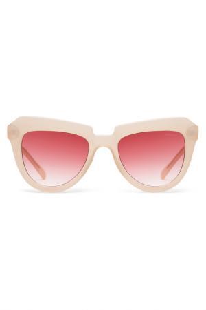 Солнцезащитные очки Komono. Цвет: коричневый