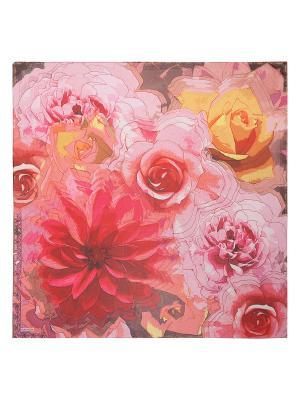 Платок Eleganzza. Цвет: малиновый, бледно-розовый, горчичный
