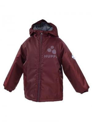 Куртка HUPPA. Цвет: коричневый