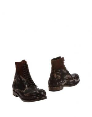 Полусапоги и высокие ботинки O.X.S.. Цвет: баклажанный