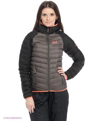 Куртка ZENON XT JACKET WOMEN Jack Wolfskin. Цвет: серый