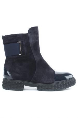 Ботинки Sandm. Цвет: синий