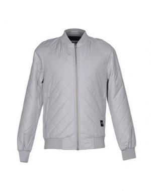 Куртка WEMOTO. Цвет: светло-серый