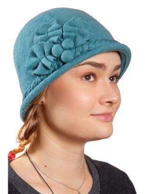 Шляпа Three S. Цвет: серо-зеленый