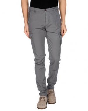 Повседневные брюки FRANKLIN & MARSHALL. Цвет: серый