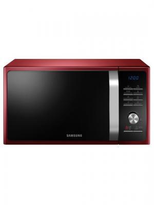 Микроволновая печь Samsung  MS23F301TQR. Цвет: черный, красный