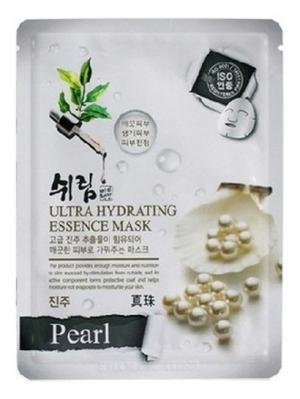 Комплект увлажняющих масок с натуральным экстрактом жемчуга, 25 мл.*10 шт. Shelim. Цвет: белый