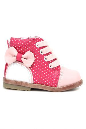 Ботинки MURSU. Цвет: фуксия, розовый