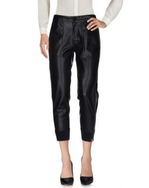 Повседневные брюки BLACK ORCHID. Цвет: черный