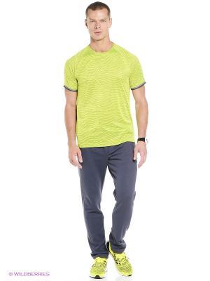 Брюки TAP AUTH 4.0 adidas. Цвет: серый, желтый