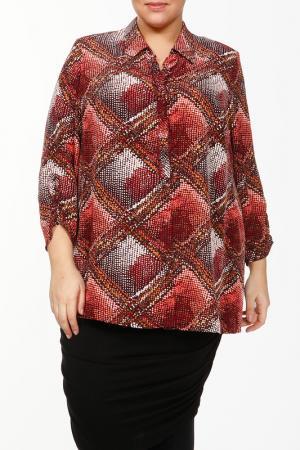Блуза Конфетти Terra. Цвет: мультицвет