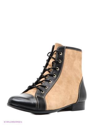 Ботинки NO ONE. Цвет: коричневый