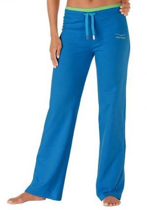 Свободные брюки Venice Beach. Цвет: синий