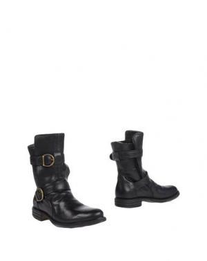 Полусапоги и высокие ботинки FIORENTINI+BAKER. Цвет: черный