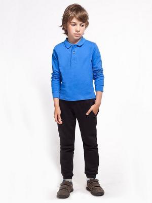 Рубашка-поло VILATTE. Цвет: голубой