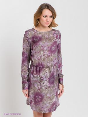 Платье RARE. Цвет: темно-фиолетовый, сиреневый