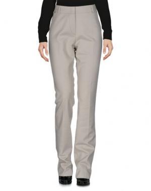 Повседневные брюки LAURÈL. Цвет: серый