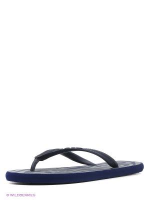 Пантолеты пляжные SOULS. Цвет: фиолетовый