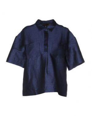 Pубашка SPACE STYLE CONCEPT. Цвет: синий