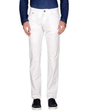 Повседневные брюки ENERGIE. Цвет: белый