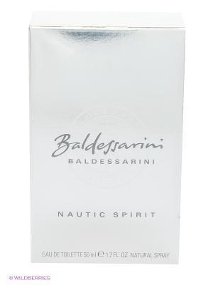 Туалетная вода nautic spirit edt 50ml spray BALDESSARINI. Цвет: белый