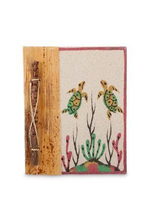 Блокнот На дне океана ср. (о.Бали) Decor & gift. Цвет: бежевый