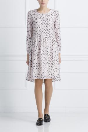 Платье с принтом Chinti And Parker. Цвет: белый, черный