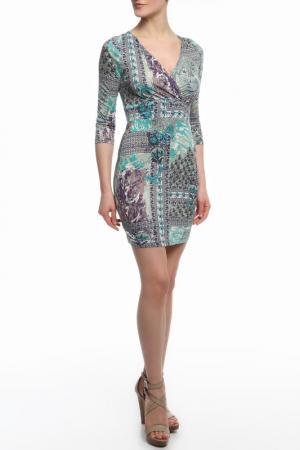 Платье MONDIGO. Цвет: бирюзовый