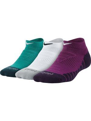 Носки Y DRY CUSH NS 3PR Nike. Цвет: бирюзовый, белый, фиолетовый