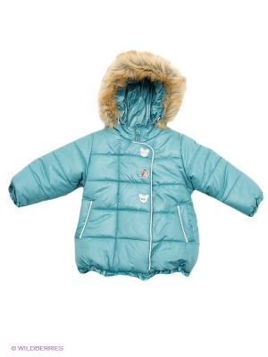 Куртка Бимоша. Цвет: голубой