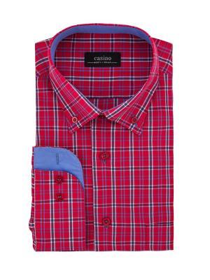 Рубашка CASINO. Цвет: красный