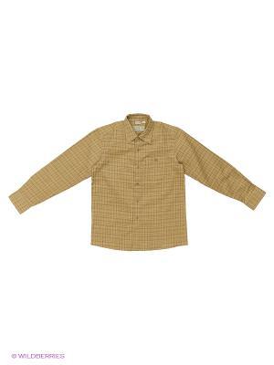 Рубашка Tsarevich. Цвет: бежевый