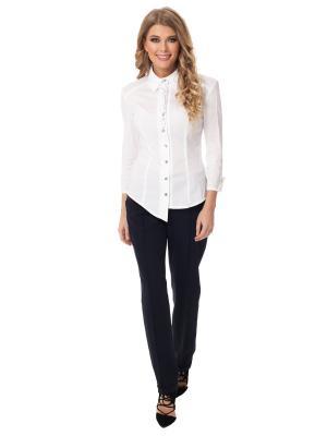 Рубашка Gloss. Цвет: белый