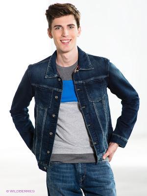 Куртка TOM FARR. Цвет: темно-синий