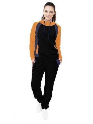 Спортивный костюм Валери Runika. Цвет: черный, горчичный, индиго