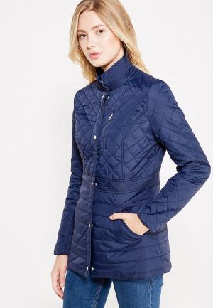 Куртка утепленная oodji. Цвет: синий