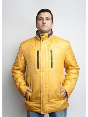 Куртка Naviator. Цвет: горчичный