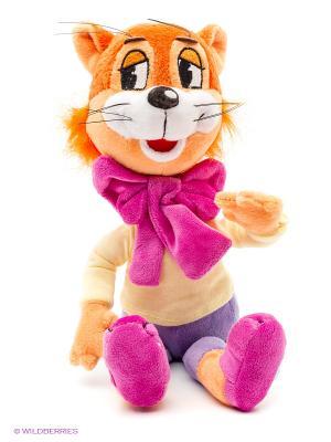 Мягкая игрушка Мульти Пульти кот Леопольд Мульти-пульти. Цвет: желтый