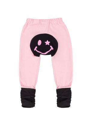 Штанишки для подгузников Yuumi Смайл. Цвет: розовый