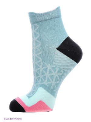 Носки RUNNING MOTION LT SOCK ASICS. Цвет: голубой, розовый, черный, серый