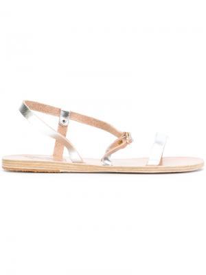Сандалии Niove Ancient Greek Sandals. Цвет: металлический
