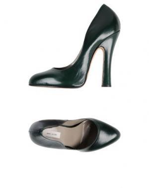 Туфли MARC JACOBS. Цвет: темно-зеленый