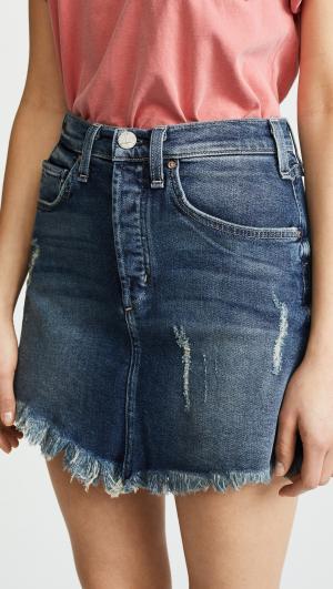 Izabel High Rise Miniskirt McGuire Denim