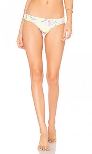 Низ бикини adelle Tori Praver Swimwear. Цвет: желтый