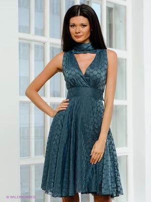 Платье Fuzer. Цвет: синий