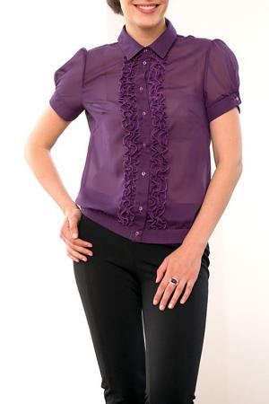 Блузка MARCA-M. Цвет: фиолетовый